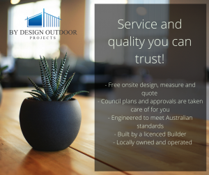 By Design Outdoor Project, Tamworth Patio Builders, Ausdeck patio and roofing, insulated roofing, v-line roofing, outdoor patios
