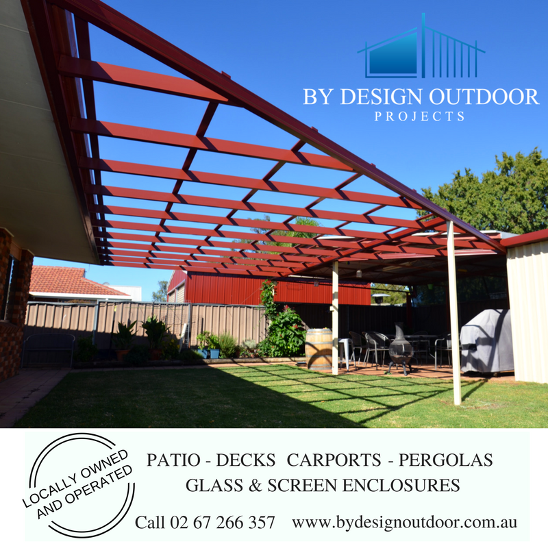 Pergola Tamworth, outdoor area pergola, By Design Outdoor Projects Pergola