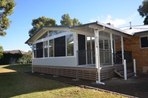 Home addition, Deck and Glass room