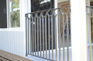 Custom balustrade,